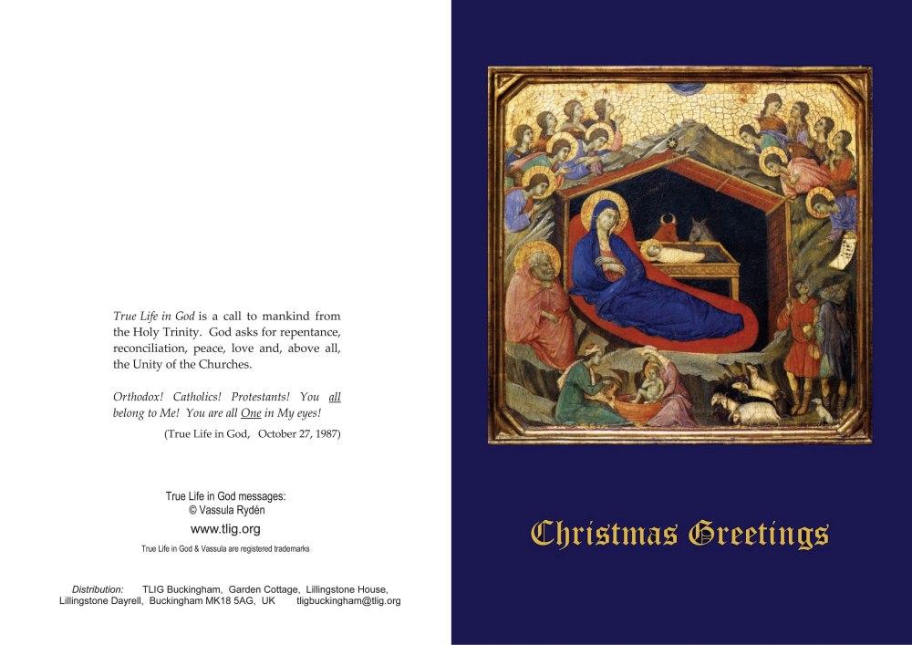 TLIG Christmas Cards